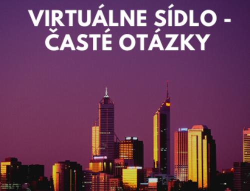 Virtuálne sídlo – časté otázky