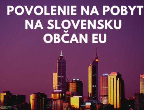 Ako môže získať občan Poľska povolenie na pobyt na Slovensku