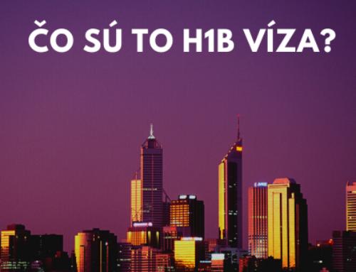 Čo sú to H1B víza?