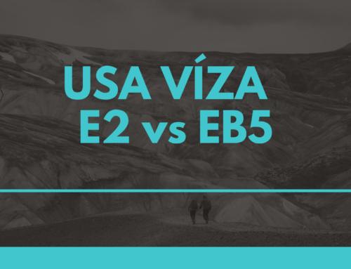 Porovnanie USA víza – E2 vs EB5
